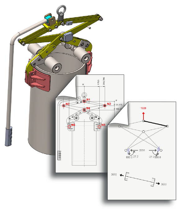 Static Analysis of a gripper
