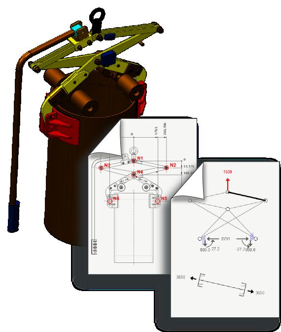 Analyse statique d'une pince